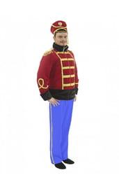 Взрослый костюм Гусара с синими брюками