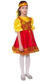 Детский костюм Русская хохлома