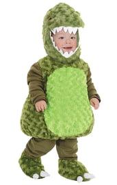 Костюм зеленого динозавра для малыша