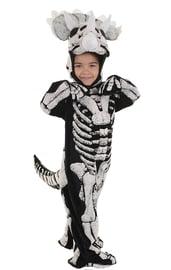 Детский костюм скелета Динозавра