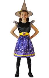 Детский костюм сказочной ведьмочки