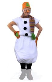 Костюм Снеговика с оранжевым ведром