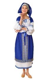Синий русский костюм Машеньки