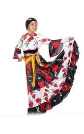 Детский костюм Цыганочки в цветах