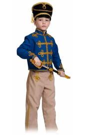 Детский костюм синего Гусара