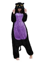 Кигуруми Черно-фиолетовая кошка