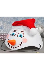 Карнавальная шляпа Снеговик