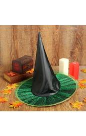 Черно-зеленый колпак ведьмы