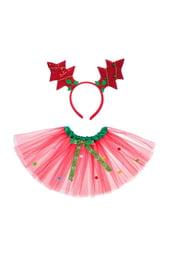Красный карнавальный набор Елочка