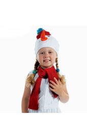 Шапка и шарф Снеговика