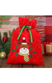 Мешок для подарков Новогодний олень