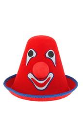 Красная шляпа клоуна