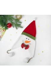 Карнавальная шапка Снеговик