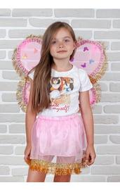 Золотистый набор Бабочки для девочки
