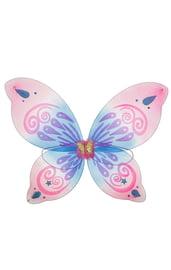 Розово-голубые крылья бабочки