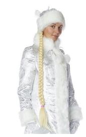 Длинная русая коса Снегурочки