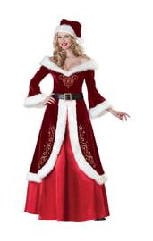 Праздничный костюм доброй Санты