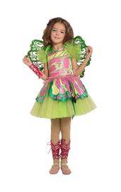 Детский костюм феи винкс Флоры