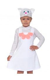 Детский плюшевый костюм кошечки