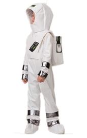Детский костюм белого космонавта