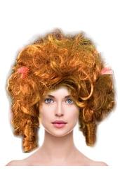 Кудрявый русый парик