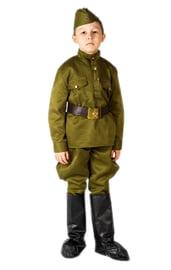 Детский костюм Солдата в галифе Люкс