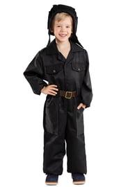 Детский костюм Танкиста в черном