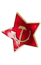 Значок красная звезда