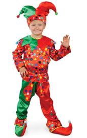 Детский костюм Разноцветного Петрушки