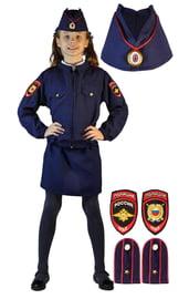 Детский костюм Полицейской девочки