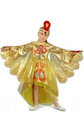 Детский костюм золотой Жар Птицы