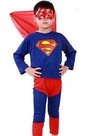 Детский костюм храброго супермена