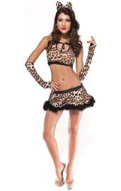 Костюм секси леопардши