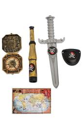 Пиратский набор с картой