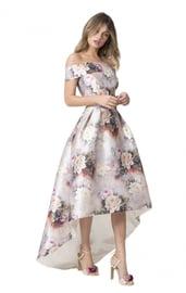 Праздничное цветочное платье
