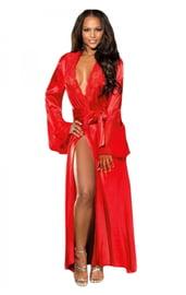 Роскошный красный халат