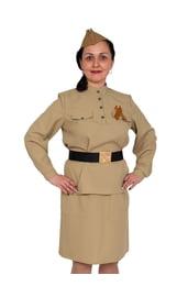 Взрослый костюм солдаточки