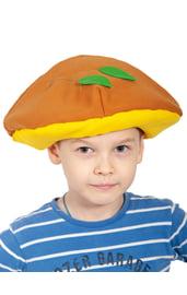 Детская шапка Гриб Масленок