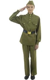Взрослый костюм военного