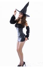 Костюм секси ведьмочки