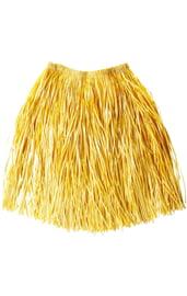 Гавайская желтая юбка