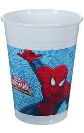 Пластиковые стаканы Человек Паук 8 шт