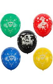 Латексные шары Пиратские 12 шт