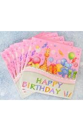 Бумажные салфетки Подарки 20 шт