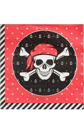 Бумажные салфетки Пират 20 шт