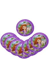 Бумажные тарелки Принцесса София 8 шт