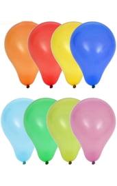 Латексные разноцветные шары 100 шт