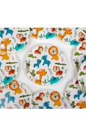 Набор тарелок 10 шт Животные