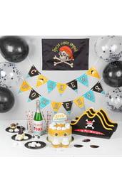 Набор декора для пиратской вечеринки