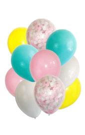 Нежный букет из шаров 10 шт